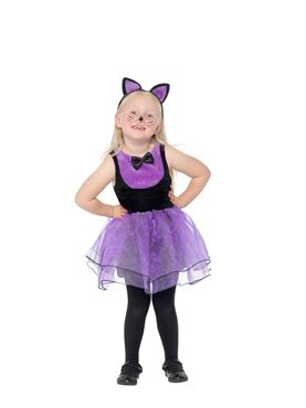 Toddler Cat Costume - Back View