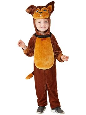 Toddler Dog Costume - Back View