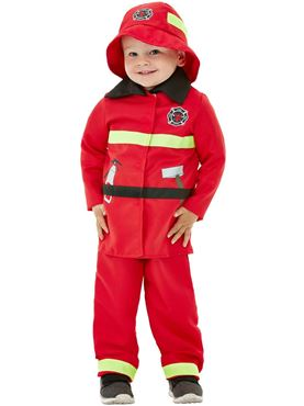 Toddler Fire Fighter Costume