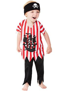 Toddler Jolly Pirate Costume Couples Costume