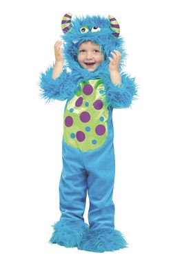 Toddler Lil Blue Monster Costume