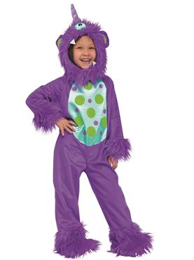 Toddler Lil Purple Monster Costume
