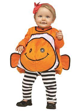 Toddler Orange Giddy Goldfish Costume