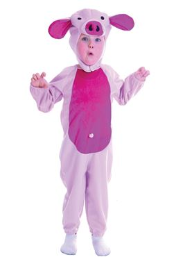 Toddler Pink Piggy Costume