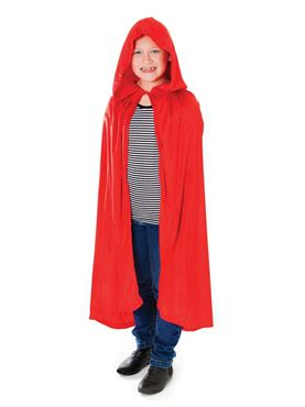 Child Red Velvet Cape