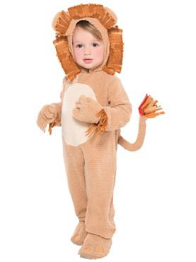Toddler Loveable Lion Costume