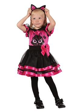 Toddler Pink Kitty Costume