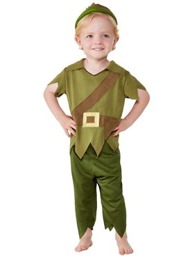 Toddler Robin Hood Costume - Side View
