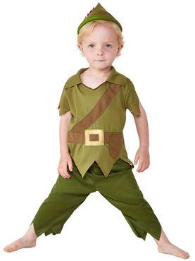 Toddler Robin Hood Costume - Back View