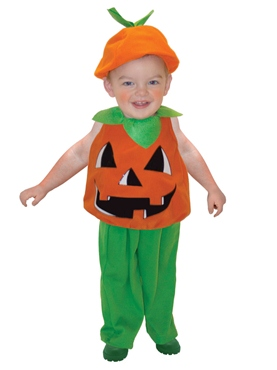 Toddlers Pumpkin Costume