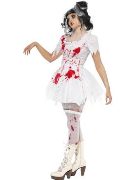 Adult Tokyo Dolls Horror Dolita Costume - Back View