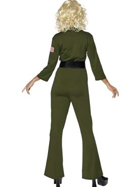 Adult Top Gun Aviator Costume - Side View
