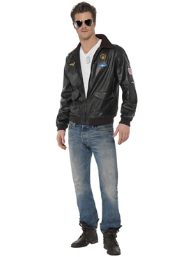 Adult Top Gun Bomber Jacket