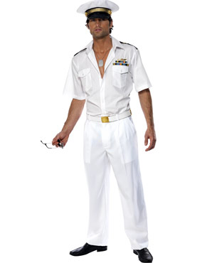 Adult Top Gun Captain Costume