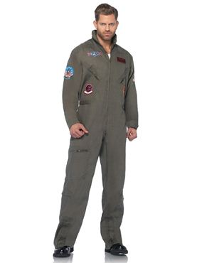 Adult Deluxe Top Gun Flight Suit Thumbnail