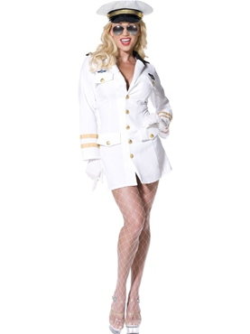 Adult Top Gun Officer Costume