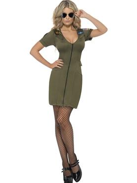 Adult Top Gun Officer Costume