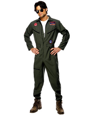 Adult Top Gun Pilot Costume