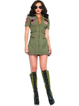 Adult Top Gun Womens Flight Dress Thumbnail