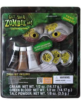 Toxic Zombie Make Up Kit