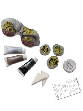 Toxic Zombie Make Up Kit - Back View