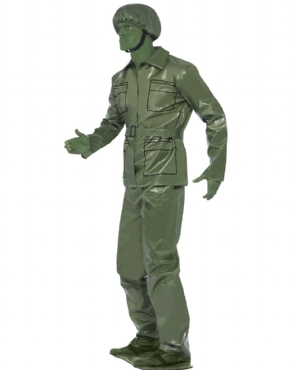 Adult Toy Soldier Costume - Back View