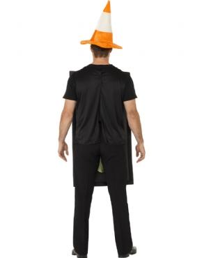 Adult Traffic Light Costume - Back View