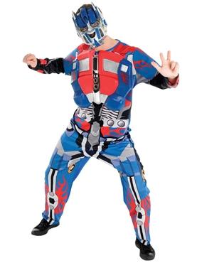 Adult Transformers Optimus Prime Costume