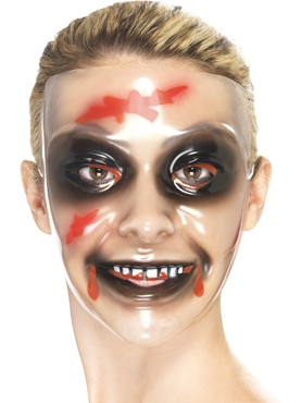 Transparent Female Face Mask