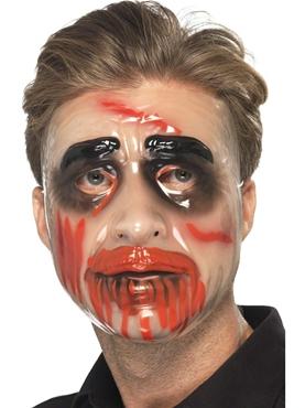 Transparent Male Face Mask