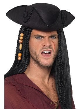 Tricorn Pirate Captain Hat