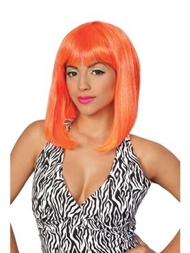 Nicki Minaj Tropical Flava Orange Wig