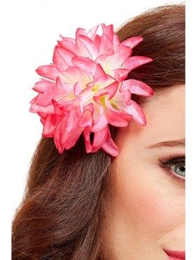 Tropical Hawaiian Flower Hair Clip