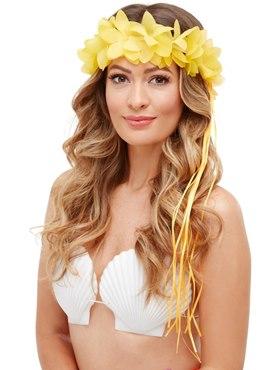 Tropical Hawaiian Headband - Back View
