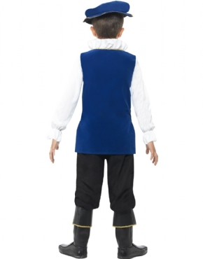 Child Tudor Boy Costume - Side View