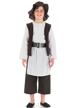 Child Tudor Poor Boy Costume