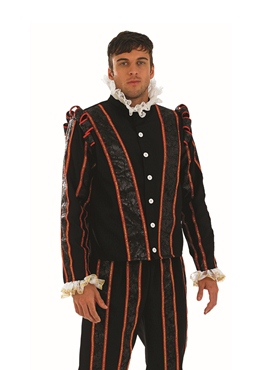 Adult Blackadder Tudor Costume - Back View
