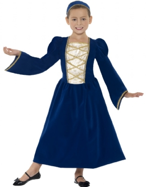 Child Tudor Princess Girl Costume