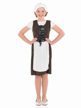 Child Tudor Girl Costume