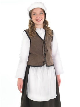 Child Tudor Kitchen Girl Costume