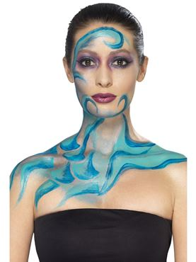 Turquoise Liquid Latex Kit - Side View