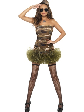 Adult Tutu Army Costume