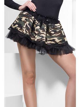 Tutu Black And Khaki Net Underskirt