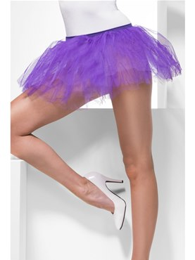 Tutu Layered Underskirt Purple