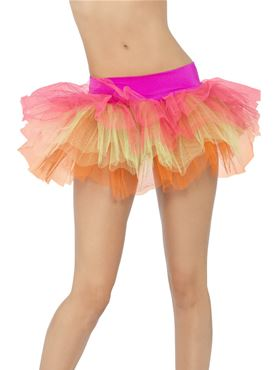 Tutu Neon Net Underskirt - Back View