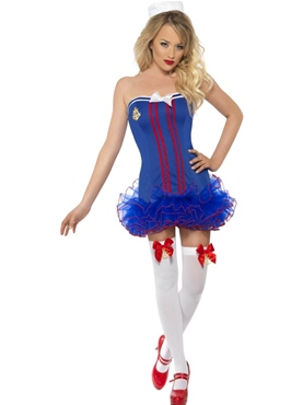Adult Tutu Sailor Costume