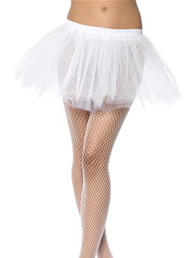 Tutu Underskirt White - Back View