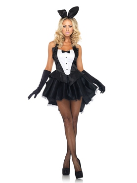 Adult Tux & Tails Bunny Costume