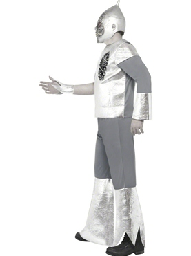 Adult Twisted Tin Man Costume - Back View
