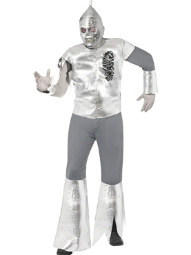 Adult Twisted Tin Man Costume 21591 Fancy Dress Ball